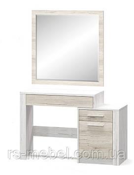 """Туалетный столик + зеркало """"Ким"""", (Мебель-Сервис)"""