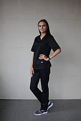 Медицинский женский костюм Черный