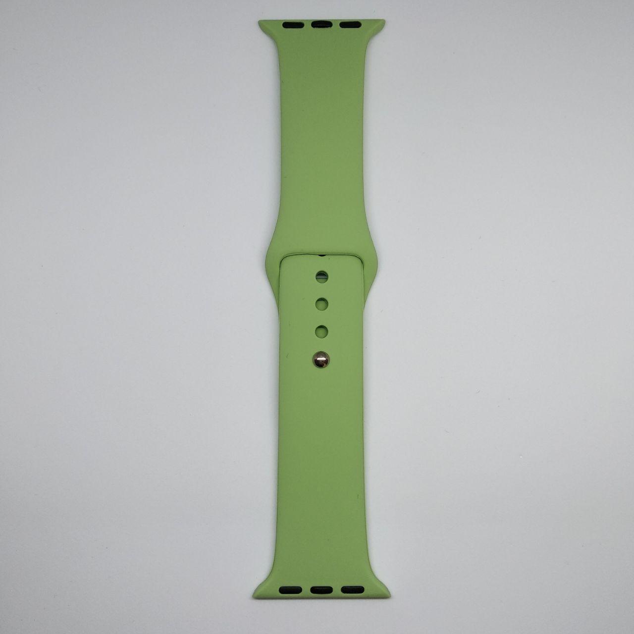 Ремешок Apple Watch 38mm M/L silicone Mint green