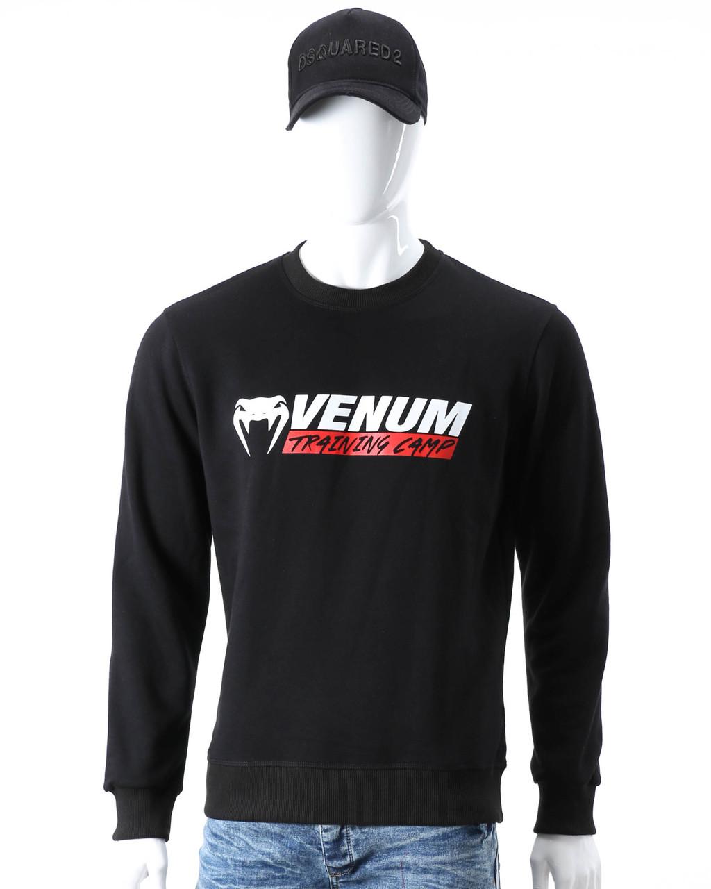 Свитшот черный VENUM №2 BLK L(Р) 20-416-001