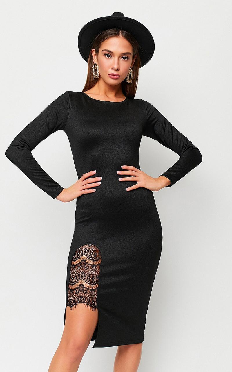 S, M, L   Вечірнє жіноче плаття Shardone, чорний
