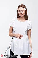 Блузка для вагітних і годування ALICANTE BL-20.022, біла