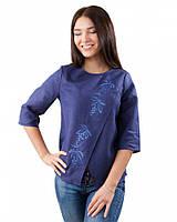 Модная женская вышиванка на запах (XS-3XL в расцветках)