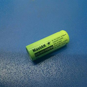 Акумулятор технічний MastAK HR-400 2/3AAA ( 1,2 V 400mAh MH )