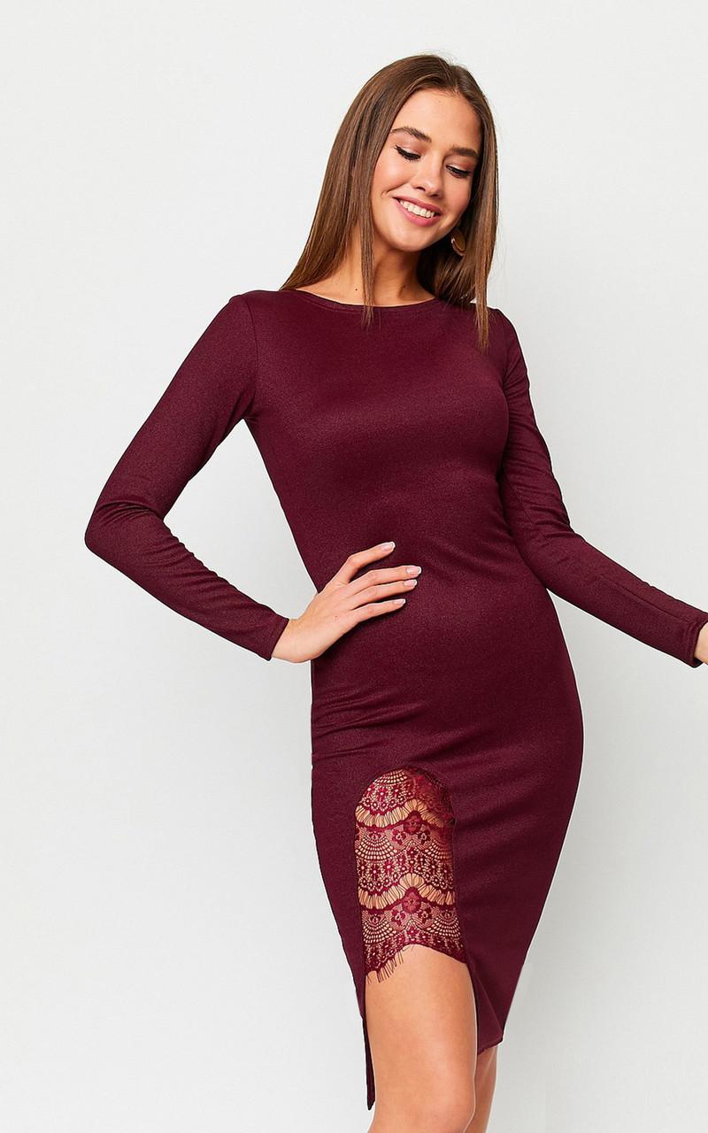 S, M, L | Вечірнє жіноче плаття Shardone, марсала
