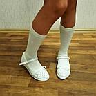 Перфорированные белые туфли девочкам, р. 32,34,36(маломерные). Летние, весенние, нарядные. Сменка, фото 9