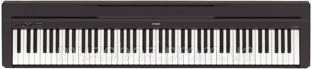 Цифровое пиано Yamaha P45B черный
