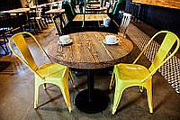 Деревянные круглые столы для кафе бара ресторана от производителя в Украине, фото 1