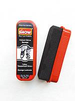 """SHOW"" - губка для обуви Стандартная Чёрная"