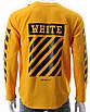 Свитшот желтый OFF-WHITE №6, рис на рукавах YEL L(Р) 20-518-201-003, фото 7