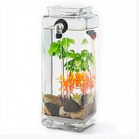 Акриловый аквариум My Fun Fish, Самоочищающийся, фото 1