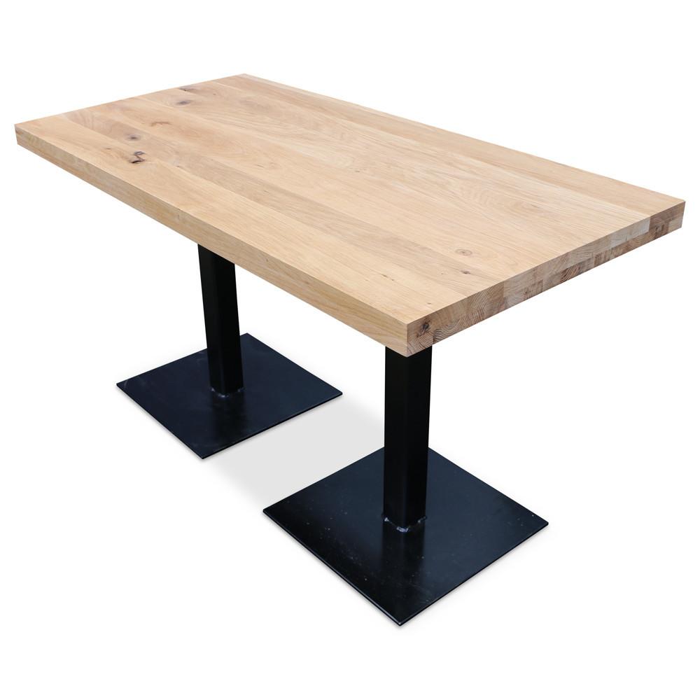 Столы для кафе бара ресторана из массива дерева от производителя