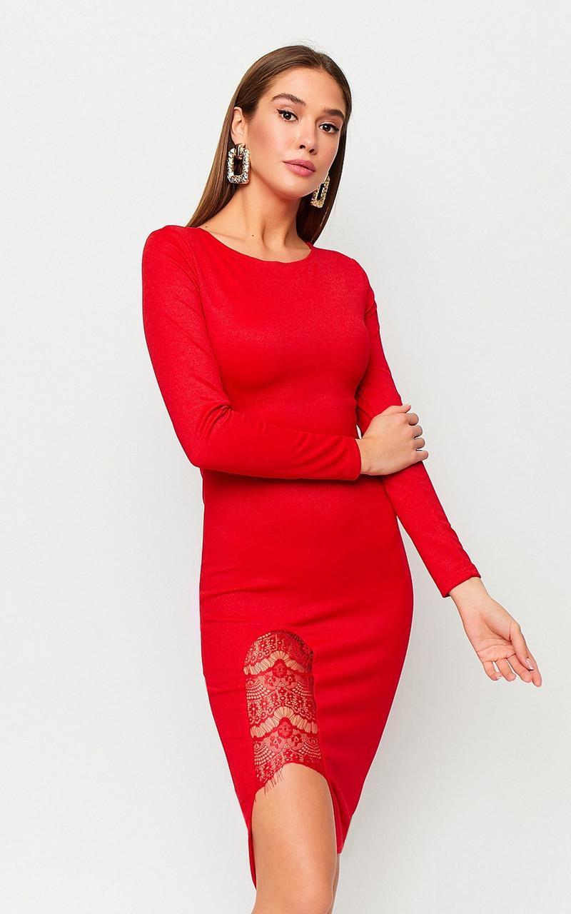 S, M, L | Вечірнє жіноче плаття Shardone, червоний