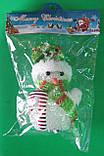 Нічник - ялинкова іграшка Сніговик, фото 3