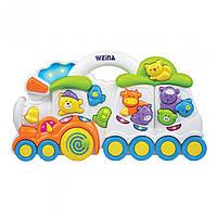 Музична іграшка Weina Паровозик з тваринами (2106)