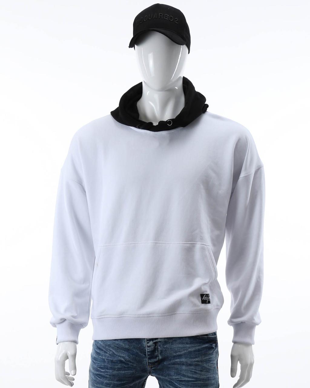 Худи белый/черный HOPE Т-1 WHT/BLK XXL(Р) 20-566-101