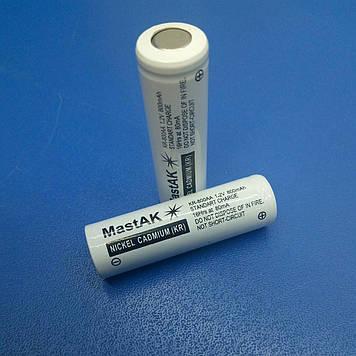Акумулятор технічний MastAK KR-800 AA ( 1,2 V 0,8 Ah Cd )