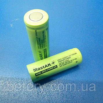 Акумулятор технічний MastAK HR-1350 4/5AA ( 1,2 V 1350mAh )