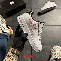 Кроссовки женские Nike Air Force 1 07 LX White в стиле Найк Аир Форс  белые