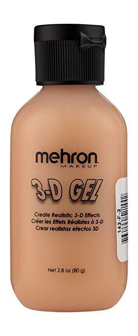 MEHRON 3-D Гель для спецэффектов Makeup 3-D Gel, Fleshtone - (цвет кожи), 60 мл