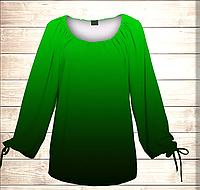 Платье-туника Carmen Ombre Эльфийский лист