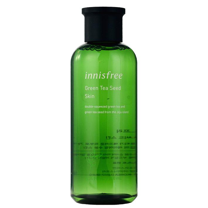 Антиоксидантный тонер с экстрактом семян зеленого чая INNISFREE Green Tea Seed Skin