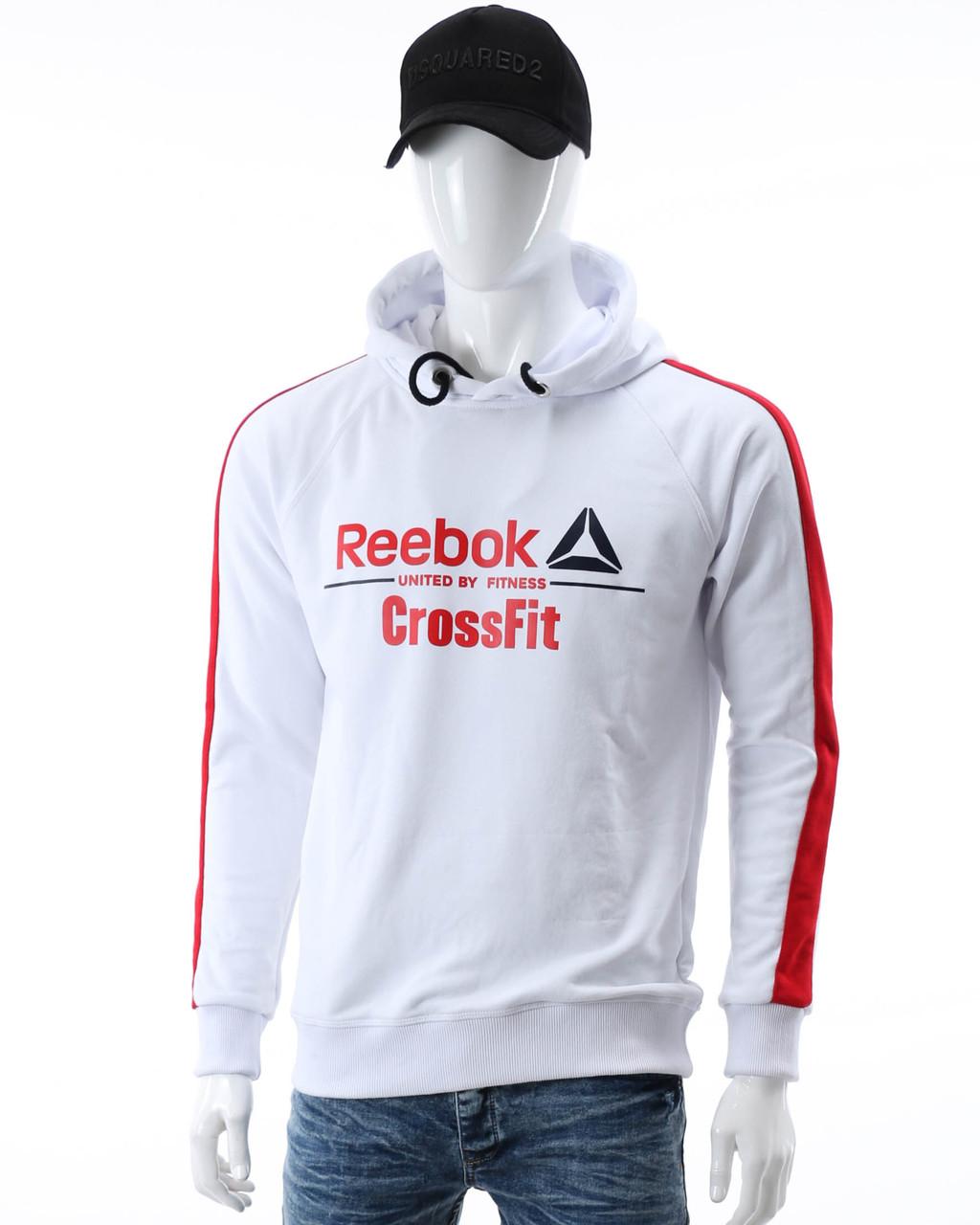 "Худи белый/красный REEBOK ""CROSSFIT"" Р-6 WHT/RED XL(Р) 20-476-601"