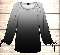 Платье-туника Carmen Ombre Цвет тайны