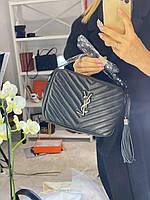 Очаровательная женская сумочка SAINT LAURENT Lou  (реплика), фото 1