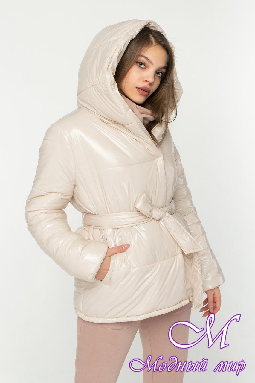 Модная осенняя куртка женская (р. S, M, L) арт. Б-86-96/45156