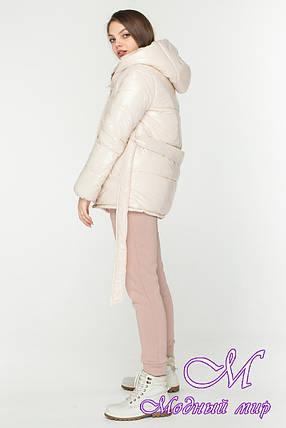 Модная осенняя куртка женская (р. S, M, L) арт. Б-86-96/45156, фото 2