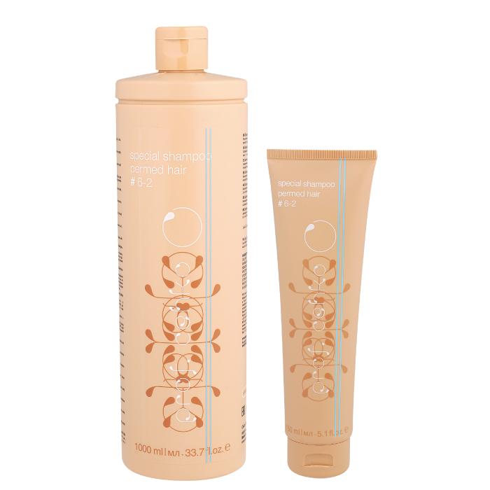 Professional C:EHKO Специальный шампунь для химически завитых волос # 6-2 (срок 10.2020)