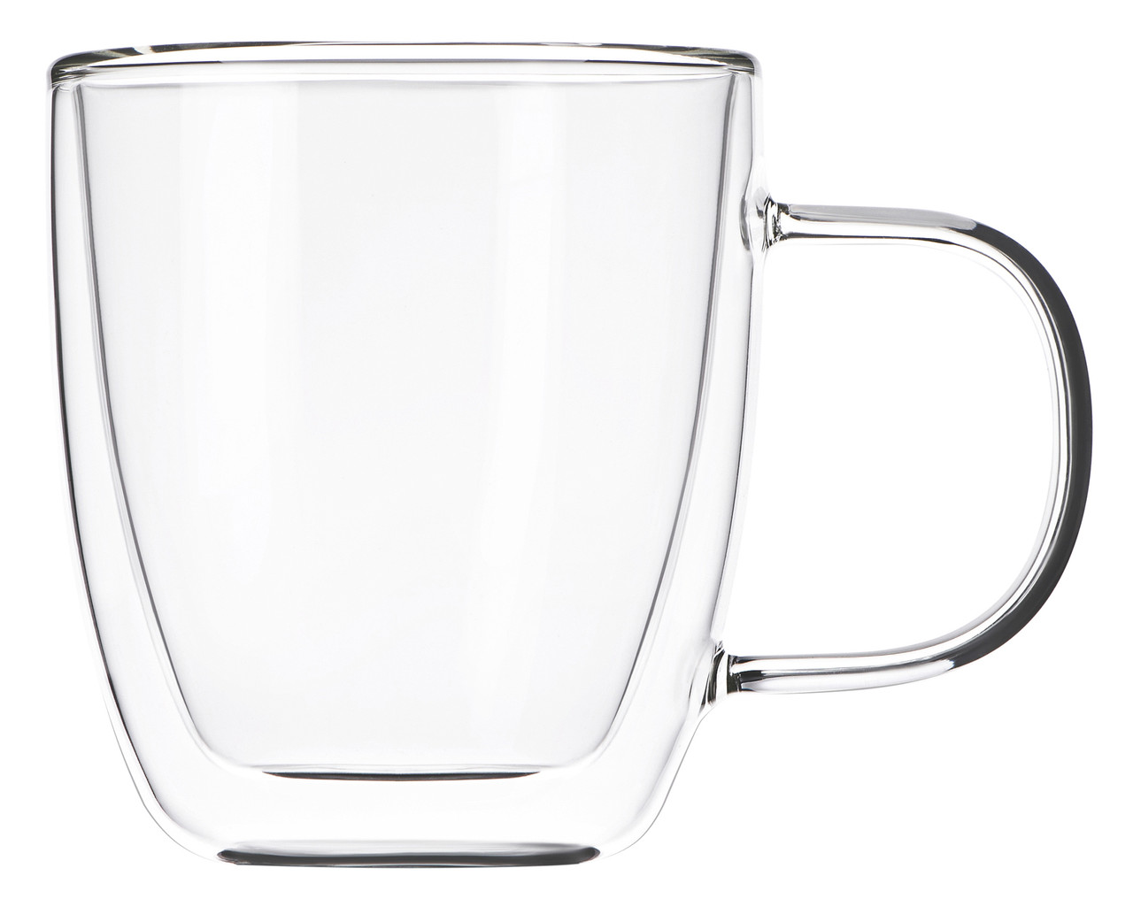 Набір чашок Ardesto 310 мл 2 шт. З подвійними стінками для лате Скло (AR2631GH)