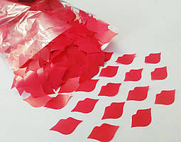 Конфетти губы красные, 100 грамм
