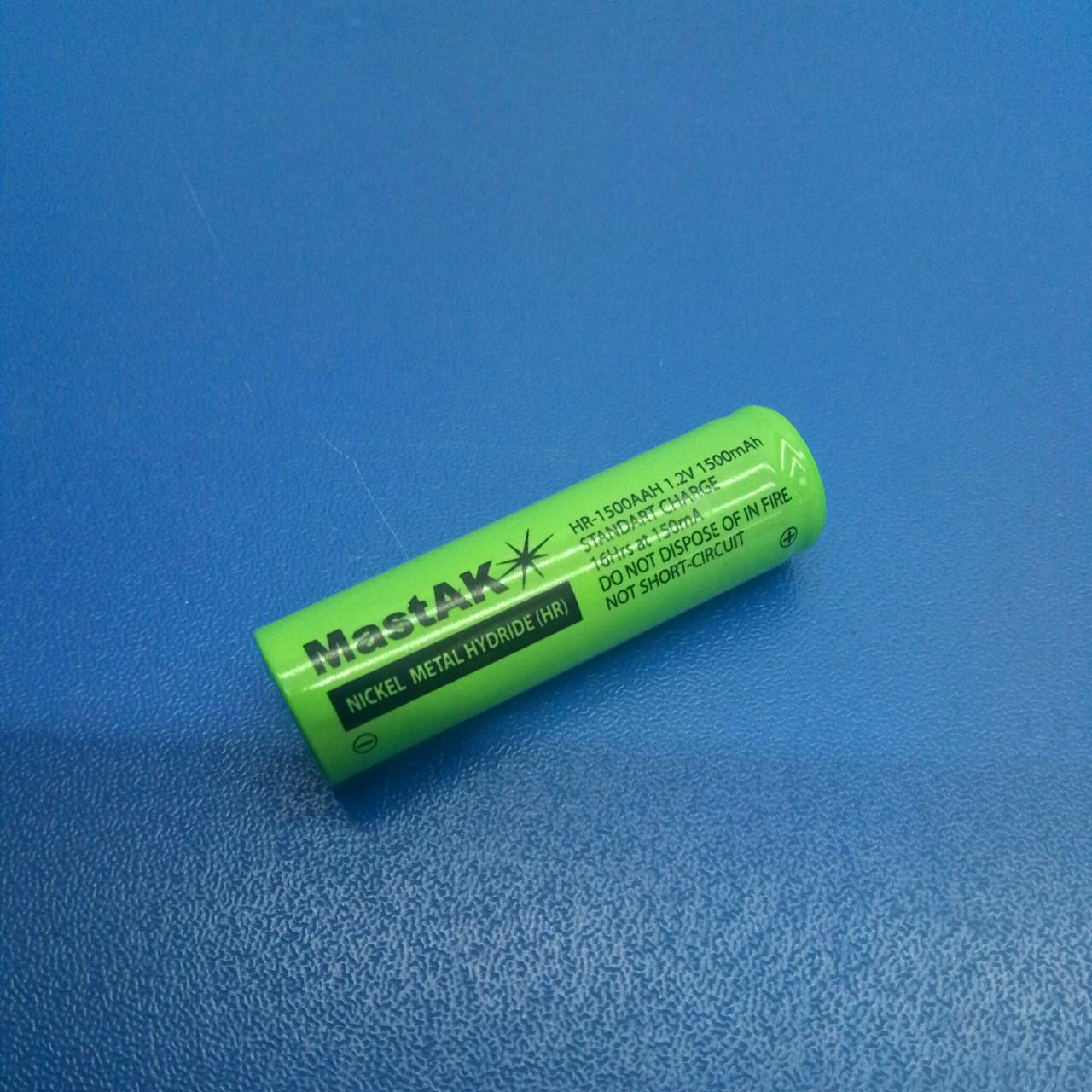 Аккумулятор технический MastAK HR-1500 AAH ( 1,2V 1,5Ah MH )