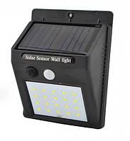 Светильник UKC 609-20 с датчиком движения и солнечной панелью 20 smd