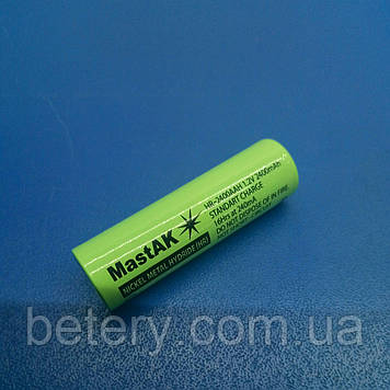 Акумулятор технічний MastAK HR-2400 AAH ( 1,2 V 2,4 Ah MH )