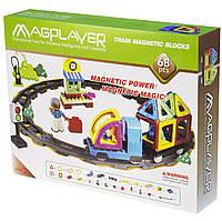 MagPlayer Конструктор магнитный 68 ед..MPK-68, фото 1