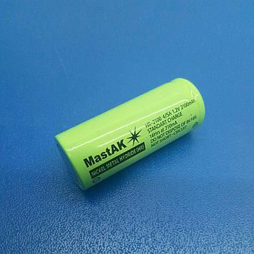 Акумулятор технічний MastAK HR-2100 4/5A ( 1,2 V 2,1 Ah MH )