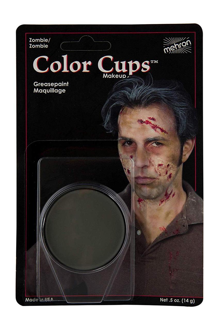 MEHRON Кремовый грим Color Cups, Zombie Flesh (Плоть зомби), 12 г