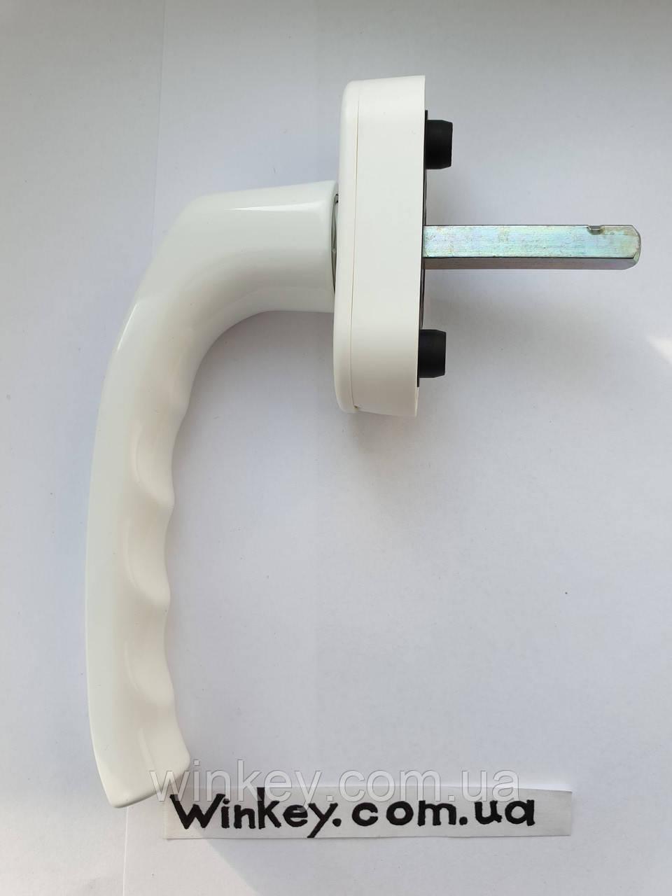 Ручка оконная Hoppe Stuttgart Secustik белая оригинал Германия