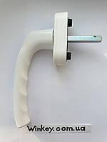 Ручка оконная Hoppe Stuttgart Secustik белая оригинал Германия, фото 1