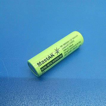 Акумулятор технічний MastAK HR-1800 AAH ( 1,2 V 1,8 Ah MH )