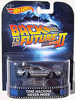 Коллекционная машинка Hot Wheels  Back to the Future Time Machine Hover Mode