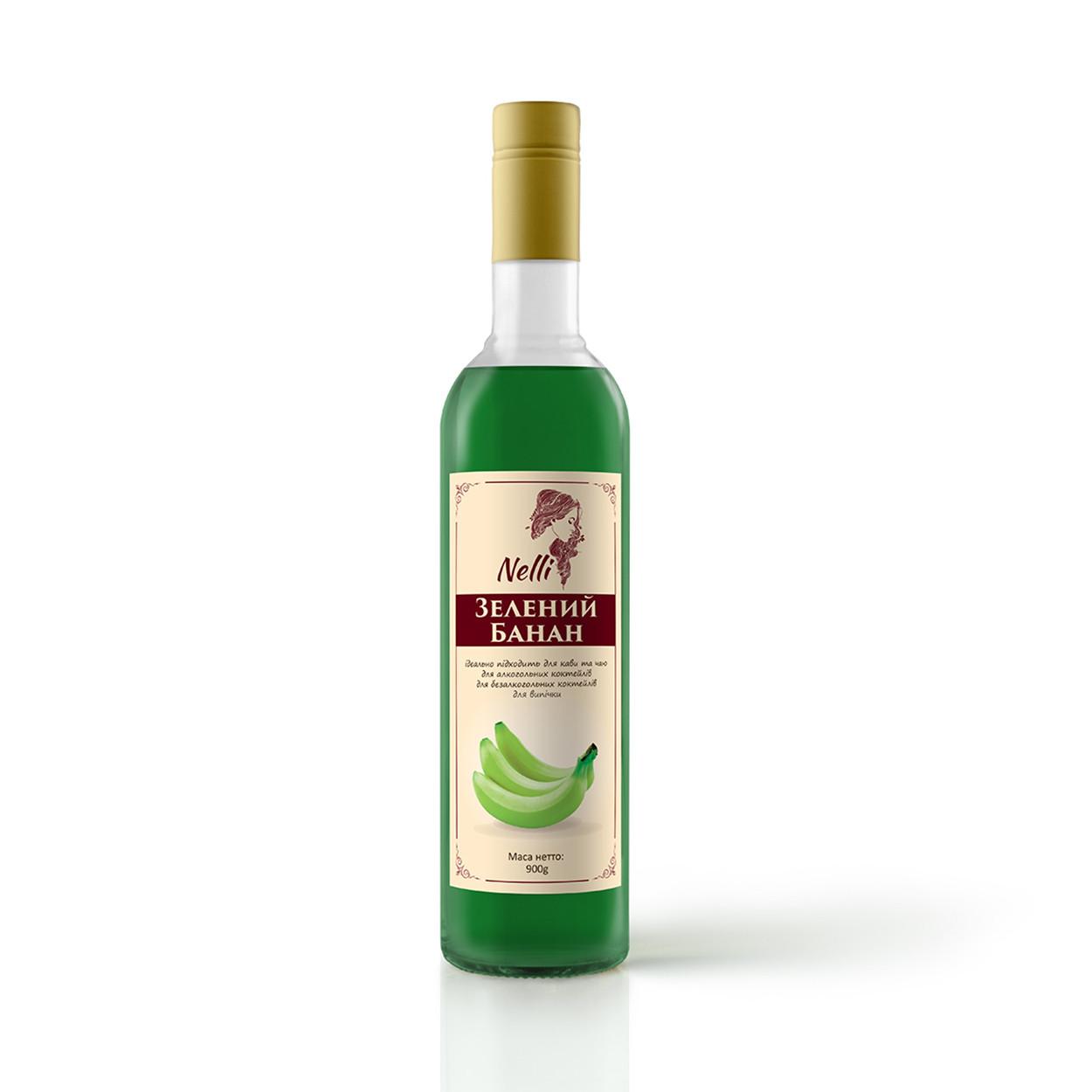 Сироп Nelli Зелений банан