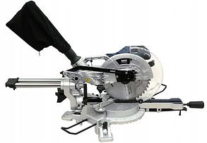 Торцювальна пила Диск 255мм c протяжкою 330мм BASS : 2500 Вт / Лазерний покажчик   1 рік гарантії