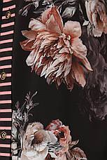 Платье прямого кроя для полных Сати пион, фото 2