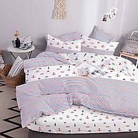 Комплект постельного белья ТЕП Sea Dream бязь 210-200 см белый