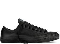 Чоловічі Converse All Star Black Mono Leather Low original