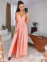 Вечернее женское платье макси с блестками РАЗНЫЕ ЦВЕТА